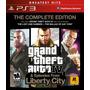 Grand Theft Auto 4 Complete Edition Playstation 3 Nuevo