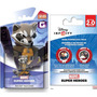 Juego Disney Infinity Rocket Racoon Y Disc Power Pack