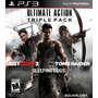 Combo Tomb Raider+sleeping Dogs+just Cause2 Ps3 Digitales