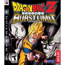 Dragon Ball Z Burst Limit Ps3 Fisico Nuevo Sellado