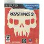 Videojuego Playstation 3 Ps3 Resistance 3 Disco Original