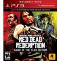 Red Dead Redemption Ps3 Juego Digita En Manvicio Store!!!