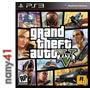 Grand Theft Auto V Juego Consola Ps3 Gta V Playstation Five