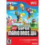 New Super Mario Bros Wii Y Wii U Nuevo Y Sellado