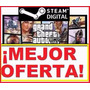 Grand Theft Auto V (gta5) Para Pc Original Steam!