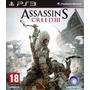 Ps3 Digital Assassins Creed Iii - Digital Ps3