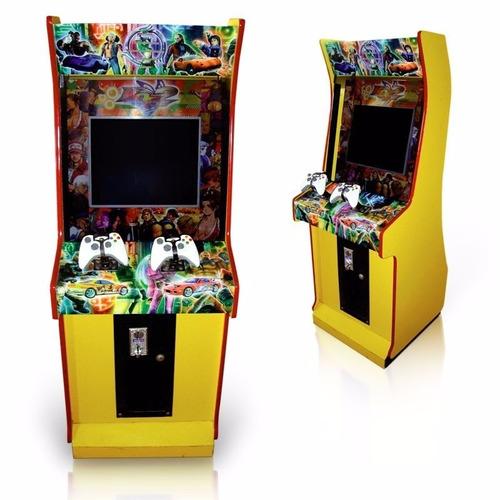 videojuegos, arcade, multijuegos cosmos chiclera