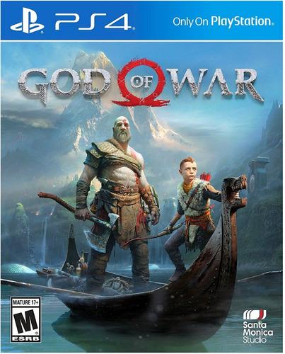 videojuegos god of war 4 ps4 fisico
