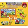 Pack Lote Angry Birds Album Cartas Figuritas Extenciones