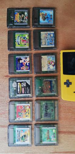 videojuegos para gameboy y gameboy color.