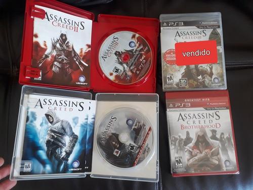 videojuegos ps3 assassinscreed en fisico