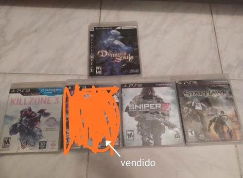 videojuegos ps3 físico oferta 5 verd cada uno