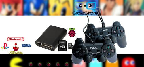 videojuegos   retro consola  raspberry pi3