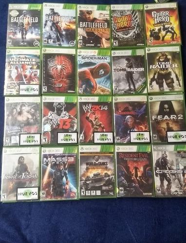 videojuegos xbox 360 de $100 a $350