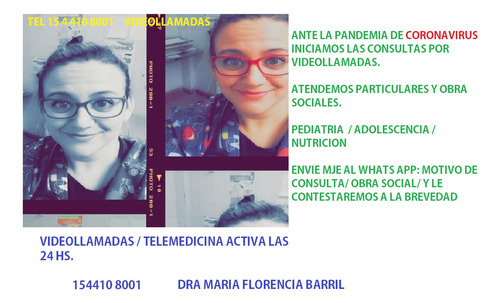 videollamadas - telemedicina- pediatra on line