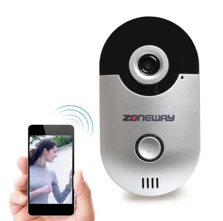 Videoportero inalambrico sistema inteligente de timbre wi - Video portero inalambrico ...