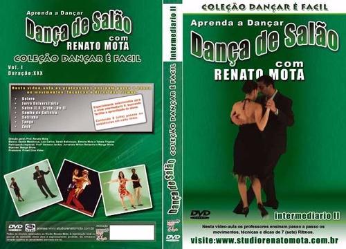 vídeos aulas didáticos em dvd´s de danças de salão.