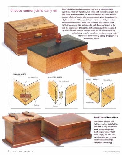 videos de carpinteria - cofres y cajas