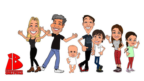 videos de dibujos animados personalizados