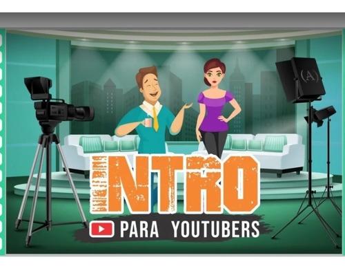vídeos de introdução para youtube e demais redes sociais