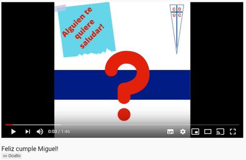 videos de saludos personalizados