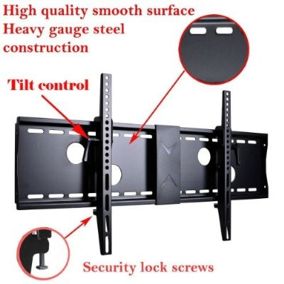 videosecu inclinación tv wall mount bracket el 37 y 70 pulga