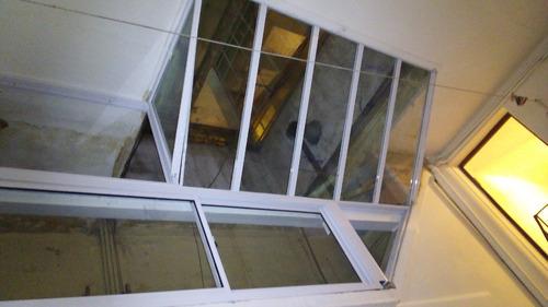 vidriería  aberturas. techos corredizos y fijos