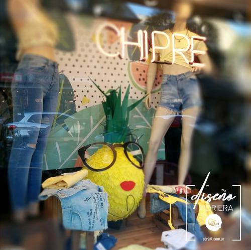vidrierista, visual merchandising y diseño de vidrieras