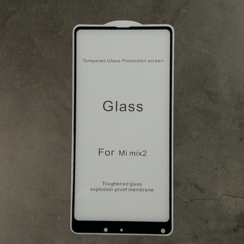 vidrio 5d  fullcover calidad xiaomi mi mix 2