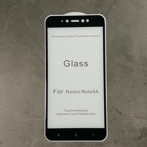 vidrio 5d fullcover calidad xiaomi redmi note 5a / prime