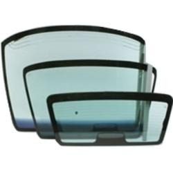 vidrio aleta de puerta trasero izquierdo megane sedan