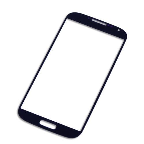 vidrio azul o negro front para samsung g s4 s iv i9500 i9505