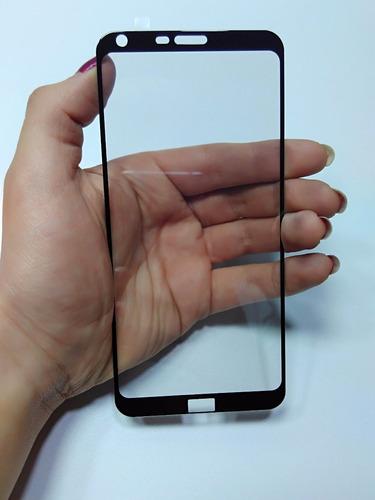 vidrio curvo protector pantalla lg q6 alpha