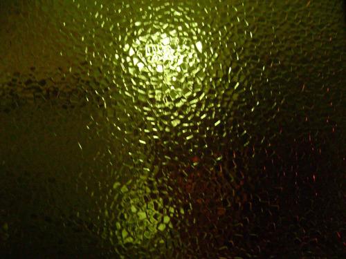 vidrio de color verde
