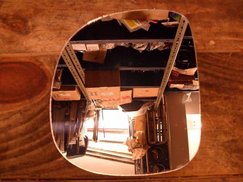 vidrio de espejo exterior izquierdo ford f-100 99/13 plano