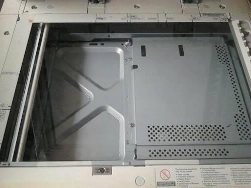 vidrio de exploracion de documentos de fotocopiadora canon