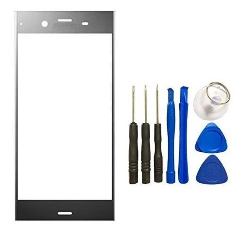 vidrio delantero pantalla sony xperia xz1 + kit colocacion
