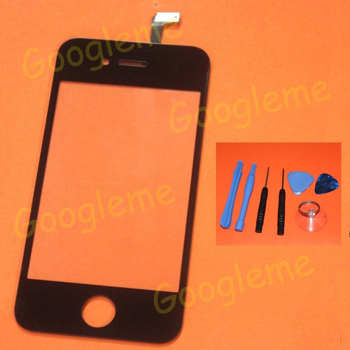 vidrio digitalizador touch screen para iphone 4 4g at&t gsm