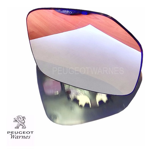 vidrio espejo manual izquierdo alternativo peugeot partner