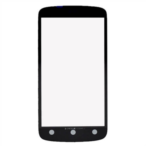 vidrio front glass screen outer lens para htc one s negro