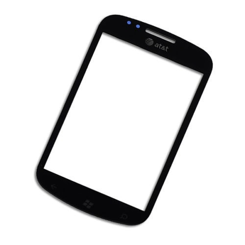 vidrio front outer screen for at&t samsung focus i917 repair