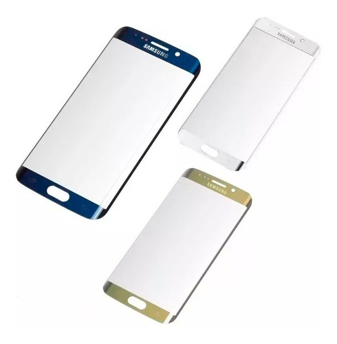 vidrio frontal curvo glass repuesto samsung galaxy s6 edge
