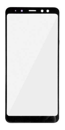 vidrio frontal repuesto pantalla samsung galaxy a8 2018