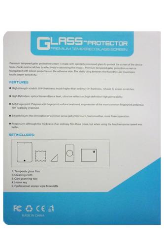 vidrio ipad air 1 y 2 protector pantalla templado original