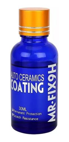 vidrio liquido para revestimiento de auto ceramica mr fix 9h