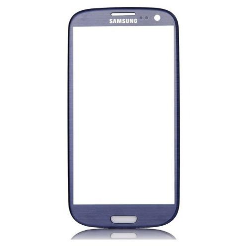 vidrio pantalla glass galaxy s3 azul y blanco originales
