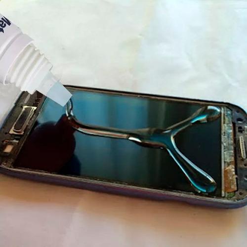 vidrio pantalla glass moto g2 2da generación + pegamento uv