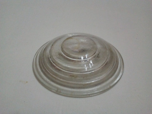 vidrio para farol de ferrocarril reposicion 10 cm.