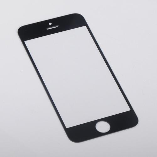 vidrio para iphone 5 5g negro