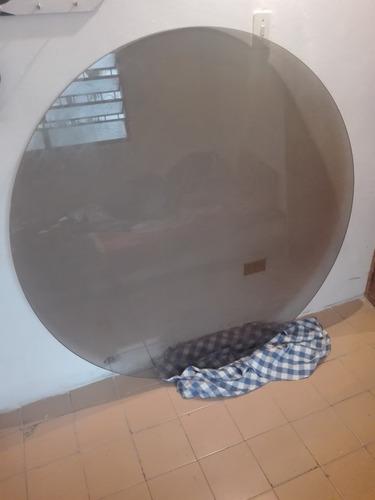vidrio para mesa de comedor redondo de 1.40 x 10mm